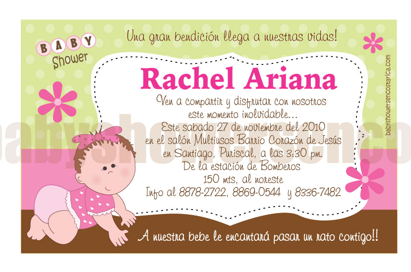 Invitaciones Para Baby Shower
