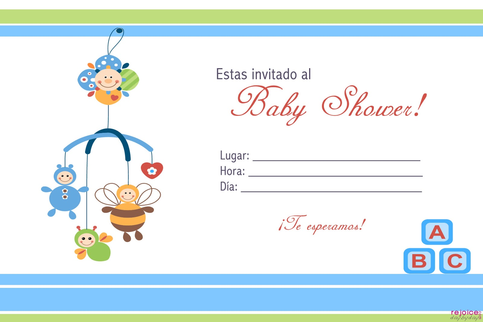 10 tipos de invitaciones para baby shower ideas fiestas y